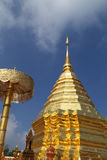 Wat Phrathat Doi Suthep temple in Chiang Mai province Stock Images