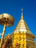 Wat Phrathat Doi Suthep Temple in Chiang Mai, Thailand. Royalty Free Stock Photography