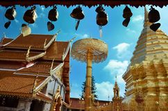 Wat Phrathat Doi Suthep Temple In Chiang Mai Royalty Free Stock Images