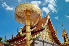 Wat Phrathat Doi Suthep Temple In Chiang Mai. Thailand Royalty Free Stock Photo