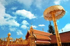 Wat Phrathat Doi Suthep Temple In Chiang Mai Stock Image