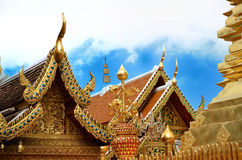 Wat Phrathat Doi Suthep Temple In Chiang Mai Stock Photos