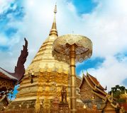 Wat Phrathat Doi Suthep Temple In Chiang Mai Stock Photography