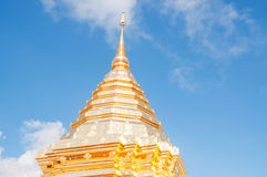 Wat Phrathat Doi Suthep temple Stock Photo