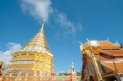 Wat Phrathat Doi Suthep temple in Chiang Mai Stock Photos