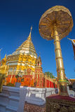 Wat Phrathat Doi Suthep temple in Chiang Mai. Royalty Free Stock Photography