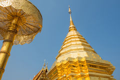 Wat Phrathat Doi Suthep temple in Chiang Mai, Thailand Stock Image