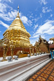 Wat Phrathat Doi Suthep temple in Thailand. Stock Photo