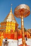 Wat Phrathat Doi Suthep, Thaïlande Photographie stock libre de droits