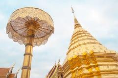 Wat Phrathat Doi Suthep in Thailand Stock Image