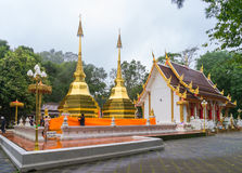 Wat Phrathat Doi Tung Stock Images