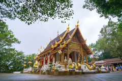 Wat Phrathat Doi Tung Stock Photography