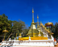 Wat  Phrathat Doi Tung Royalty Free Stock Photos