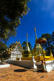 Wat  Phrathat Doi Tung Temple Stock Photos
