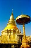 Wat Phrathat Hariphunchai Temple Royalty Free Stock Photos