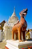 Wat Phrathat Hariphunchai Temple Royalty Free Stock Images