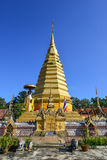 WAT PHRATHAT JOMJANG, PHARE Photo stock