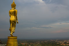 Wat Phrathat Khao Noi, Nan,Thailand Royalty Free Stock Images