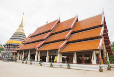 Wat Phrathat Lampang. Northern Thailand attractions Royalty Free Stock Photography