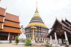 Wat Phrathat Lampang. Northern Thailand attractions Stock Image