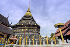Wat Phrathat Lampangluang Stock Photo