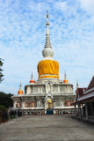 Wat PhraThat Na Dun. Wat Phra That Na Dun., Which is a landmark and tourist attraction of Buddhism Mahasarakham Province, Thailand Stock Images
