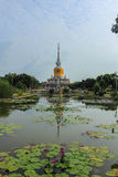 Wat PhraThat Na Dun. Wat Phra That Na Dun., Which is a landmark and tourist attraction of Buddhism Mahasarakham Province, Thailand Royalty Free Stock Photos