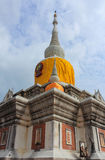 Wat PhraThat Na Dun. Wat Phra That Na Dun., Which is a landmark and tourist attraction of Buddhism Mahasarakham Province, Thailand Royalty Free Stock Photography