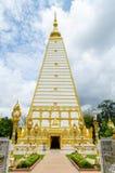 Wat Phrathat Nong Bua dans Ubon Ratchathani. Images libres de droits