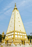 Wat Phrathat Nong Bua na província de Ubonratchathani, Tailândia Fotos de Stock Royalty Free