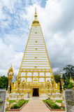 Wat Phrathat Nong Bua in Ubon Ratchathani. Royalty Free Stock Images