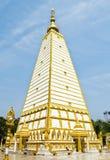 Wat Phrathat Nong Bua in Ubonratchathani-provincie, Thailand Royalty-vrije Stock Foto's