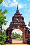 Wat Phrathat Pha-Ngao 库存照片
