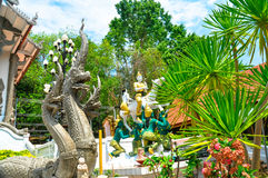 Wat Phrathat Pha-Ngao Obraz Royalty Free