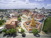Wat Phrathat Phra Aram Luang Fotografia Stock Libera da Diritti