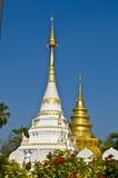 Wat Phrathat Sri Chom Tong Royalty Free Stock Photo