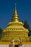 Wat Phrathat Sri Chom Tong Royalty Free Stock Photography