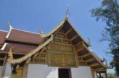 Wat Phrathat Sri Chom Tong Stock Image