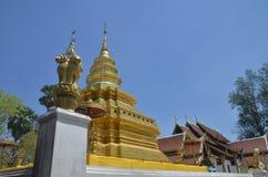 Wat Phrathat Sri Chom Tong Thailand Stock Photography