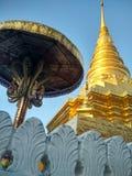 Wat Phrathatchaehaeng em Nan, Tailândia Imagem de Stock