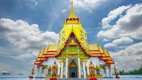 Wat Phrong Akat architecture stock footage