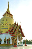 Wat Phrong-Akat (The buddhist temple in Chachoengsao) Royalty Free Stock Photo