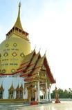 Wat Phrong-Akat (il tempio buddista in Chachoengsao) Fotografia Stock Libera da Diritti