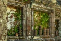 Wat Phu在南老挝 免版税图库摄影