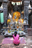 Wat Phu место всемирного наследия ЮНЕСКО в Champasak Стоковые Изображения RF