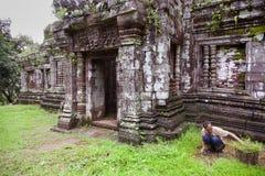 Wat phu Obraz Royalty Free