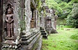 Wat Phu 免版税图库摄影