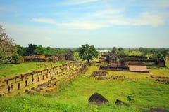 Wat Phu Champa Laos Royalty Free Stock Images