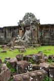 Wat phu champasak Tempelruinen, Laos Lizenzfreies Stockfoto