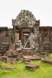 Wat Phu Champasak Temple, Laos Stock Photography